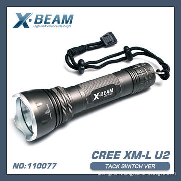 CREE XML U2 LED Flashlight X-BEAM